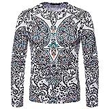 Alimao Men's Tops Autumn Winter African 3D Folk-Custom Print Long Sleeve Dashiki O-Neck Hooded Sweatshirt Top