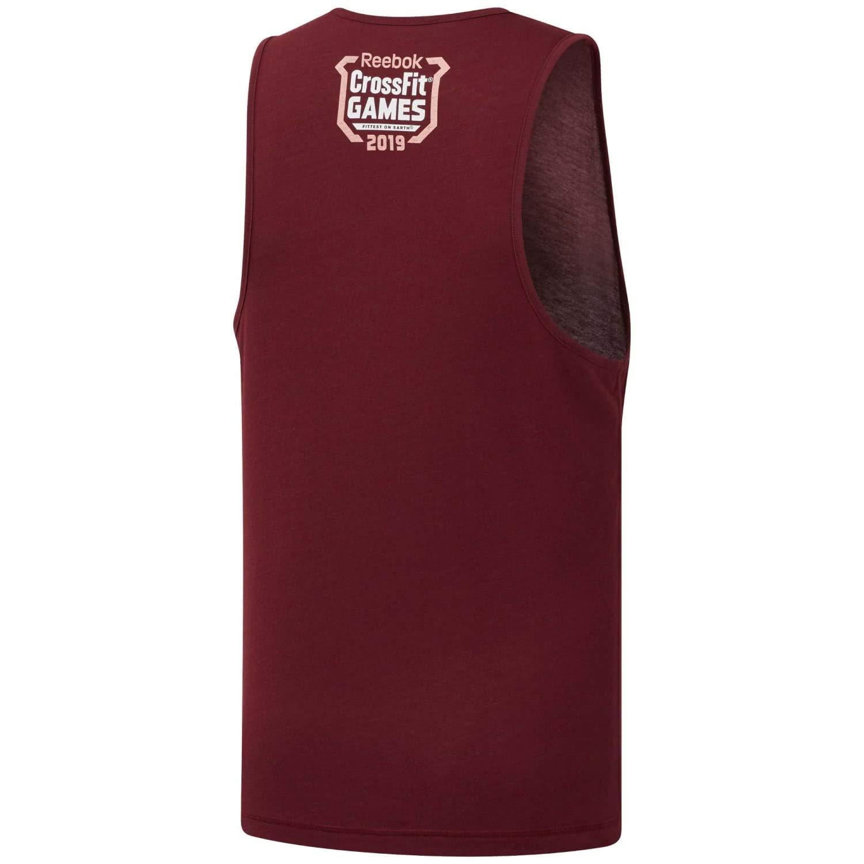 Reebok Herren Rc Ac Cotton Tank Games /ärmelloses T-Shirt