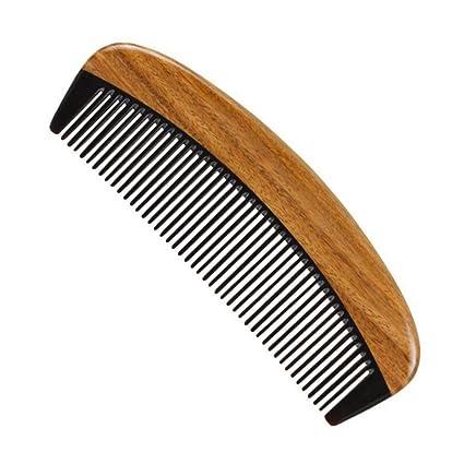 Cepillo para el cabello desenredante Peine para el cabello - Peine desenredante de madera de dientes