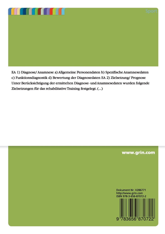 Rehabilitatives Training zur Schmerzfreiheit und Beweglichkeit im ...