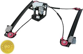 URO Parts XR848094PRM Window Regulator Premium Ball Bearing Regulator Left Front without Motor