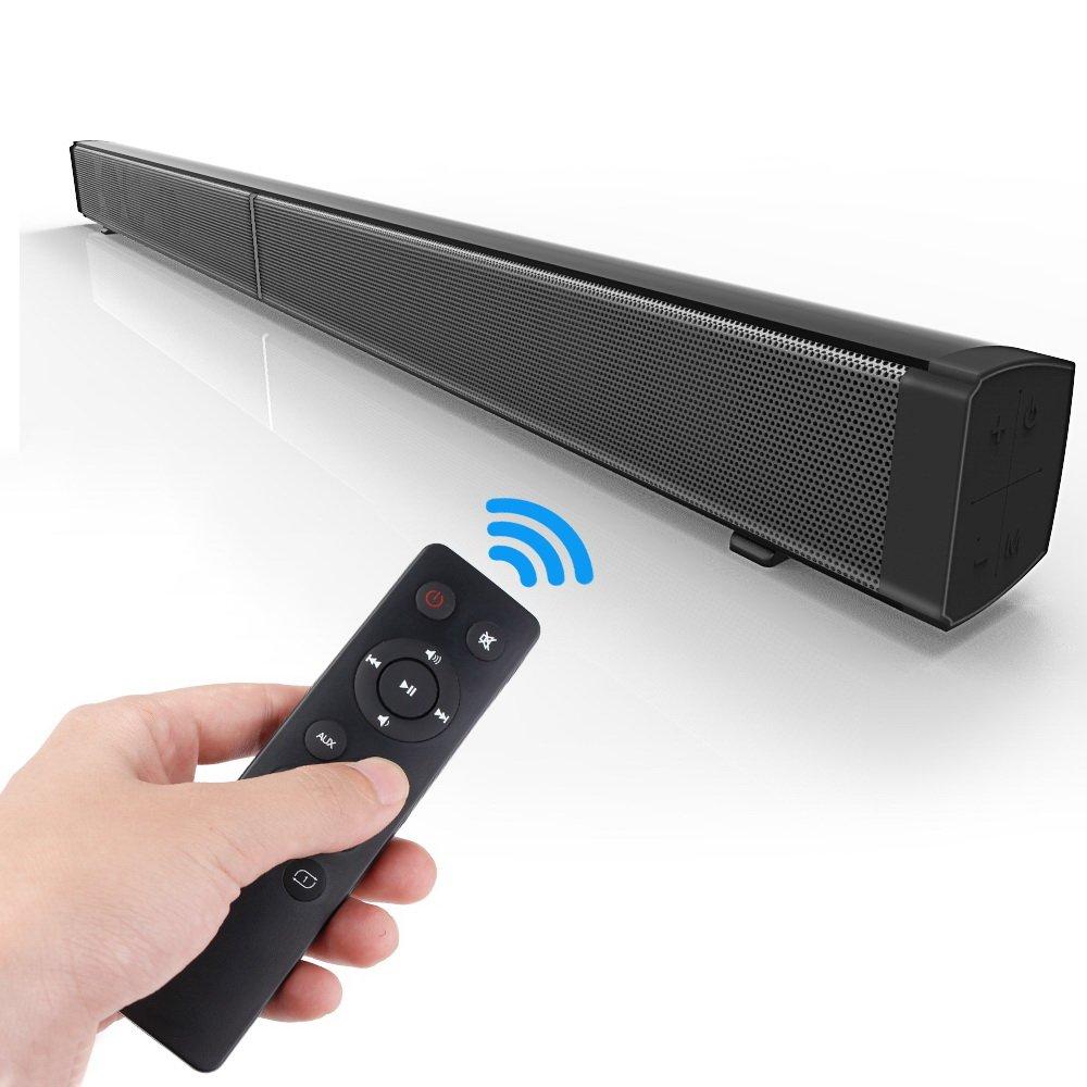 MHHDAL 40 Watt TV Sound Bar Wireless Bluetooth Speaker with Subwoofer for TV and Home Audio Speaker