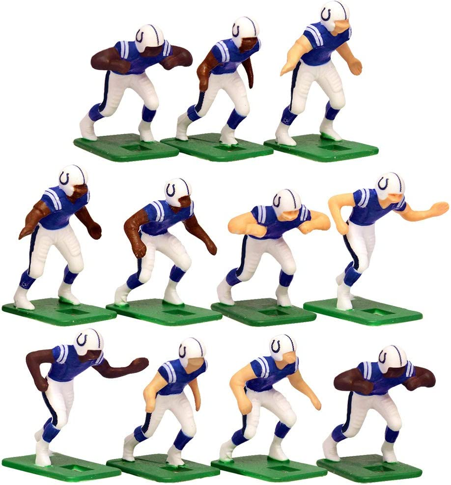 Indianapolis Colts Home Jersey NFL Action Figure Set