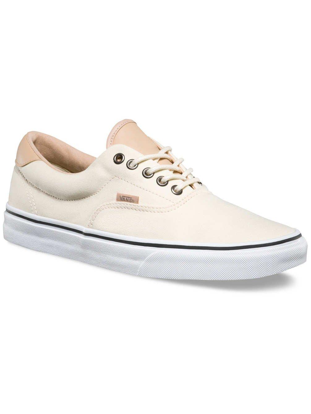 Vans Unisex Era 59 (Veggie Tan) Classic Whit Skate Shoe 8 Men US/9.5 Women US