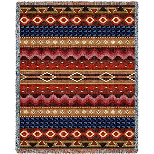 Yuma Blanket by Pure Country Weavers / Throw Blankets / art for your home and office. / 70