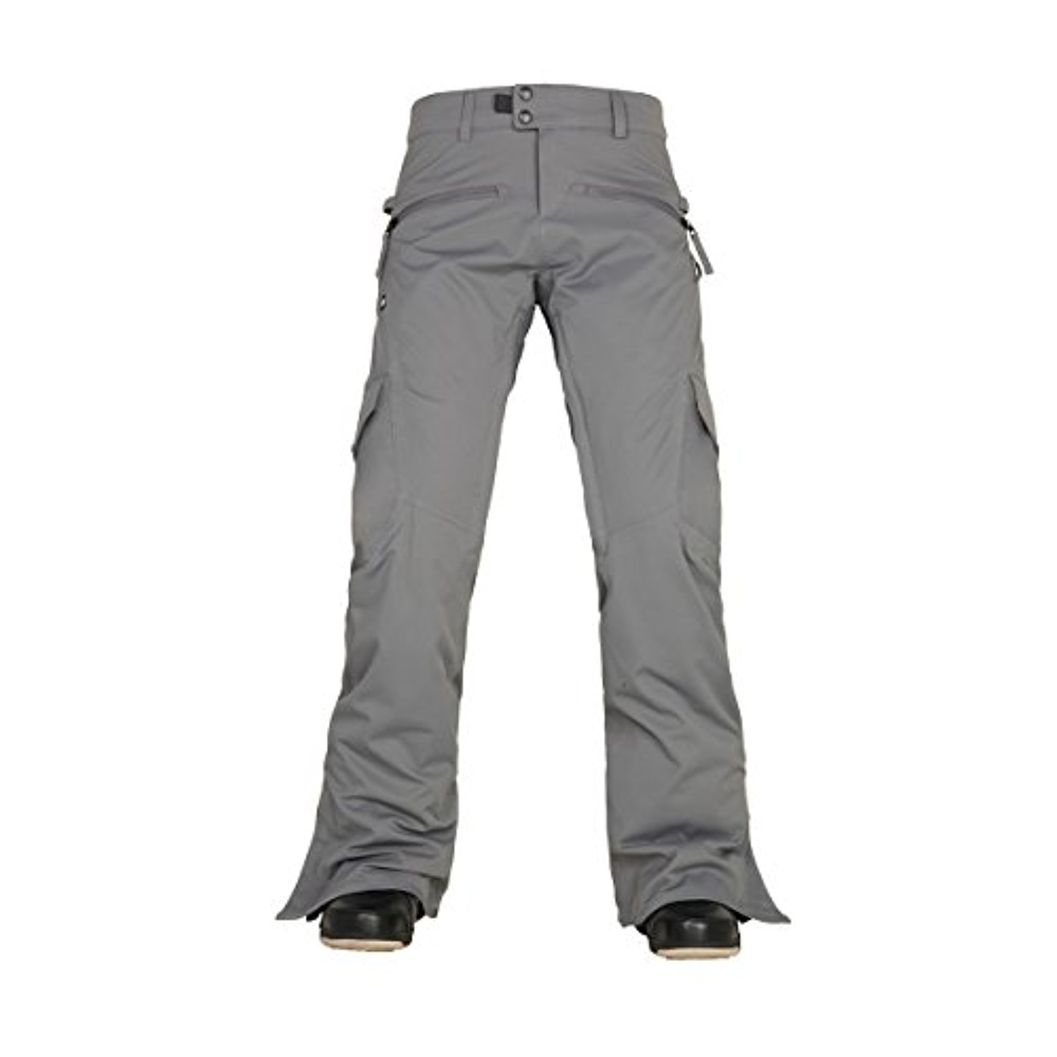 686 Women's Authentic Mistress Insulated Cargo Pants Steel Pants by 686