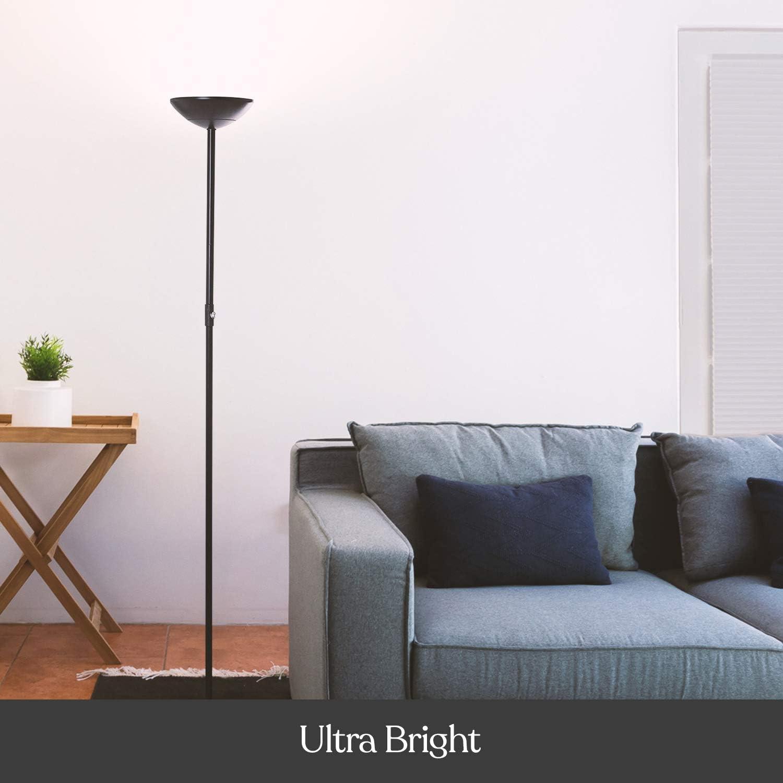skylight LED Torchiere floor lamp