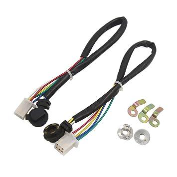 Sourcingmap® 2 Motorrad Gear Position Sensor Verkabelung Draht ...