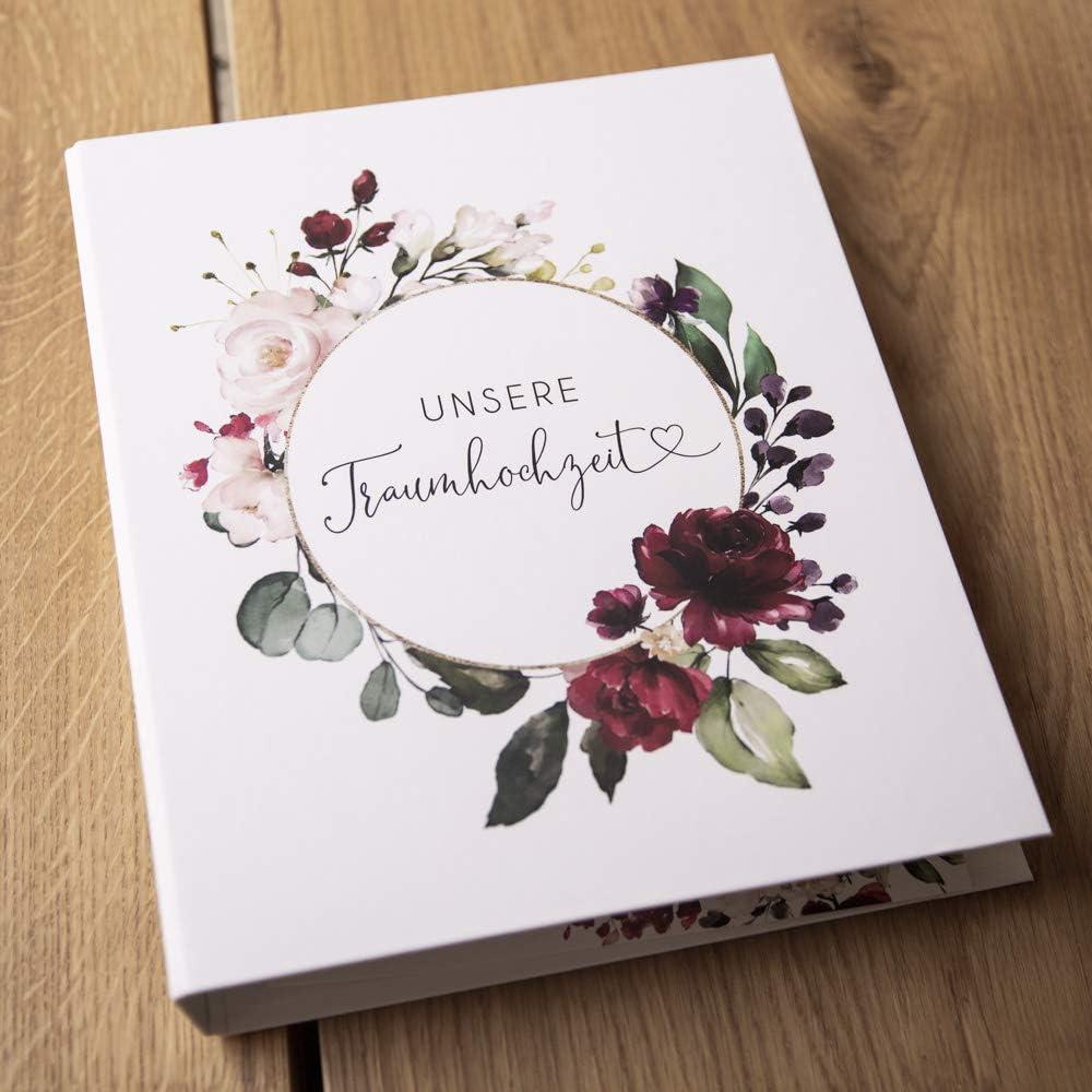 Hochzeitsmappe Ringbuch
