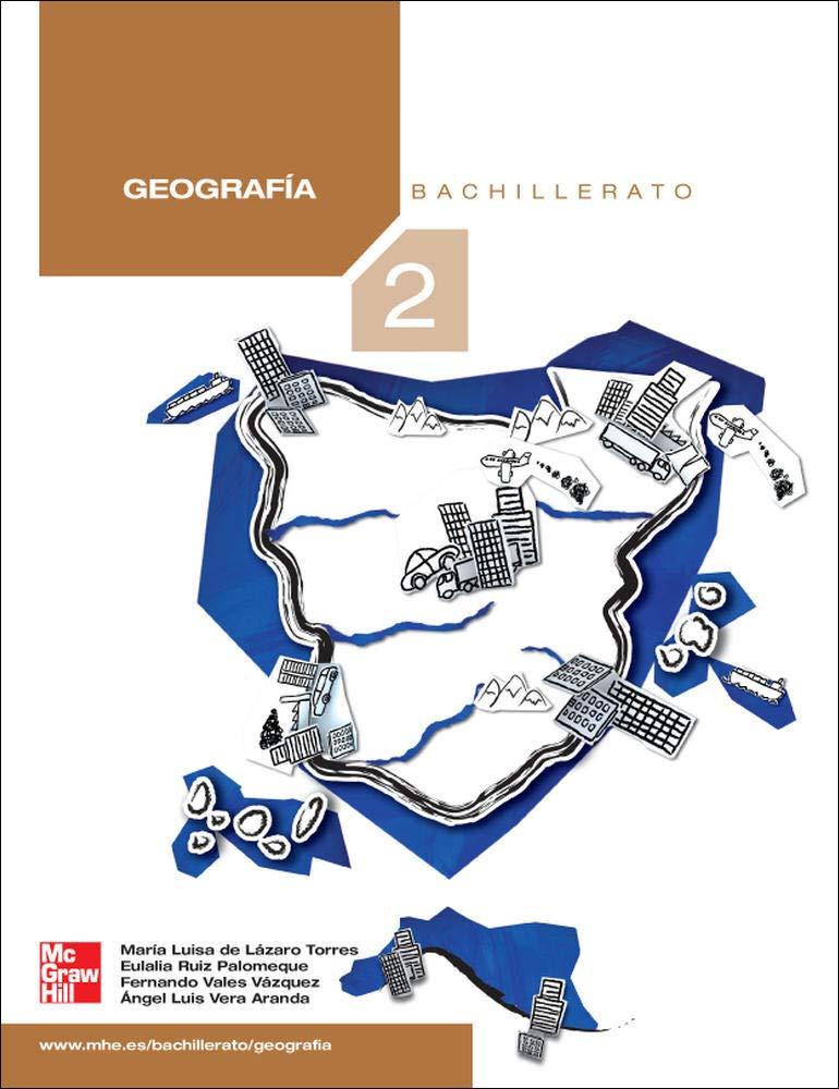 GEOGRAFIA. 2 . BACHILLERATO - 9788448169404: Amazon.es: L@ZARO: Libros