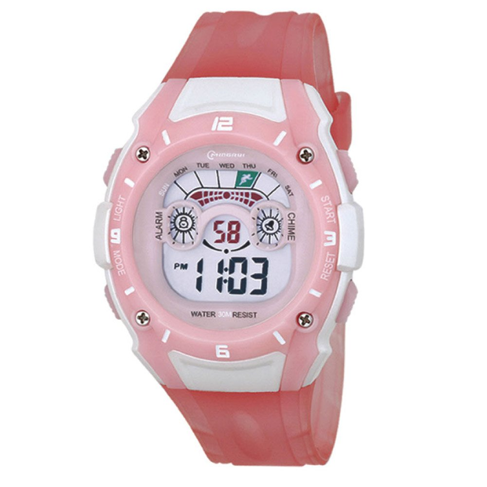 Digital Sport Students Watch for Girls Chronograph by Euvery