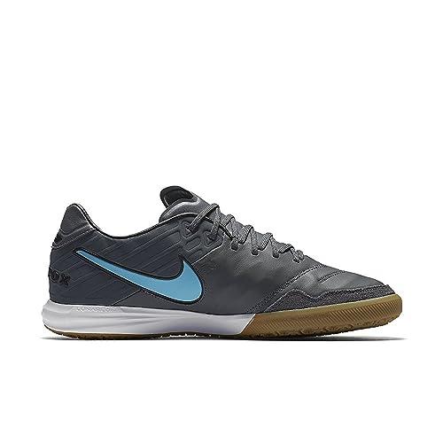 4298c141e069 Amazon.com | Nike Tiempox Proximo IC Mens Soccer Shoes 6 D(M) US Dark Grey/Polarized  Blue-Gum Light Brown | Shoes