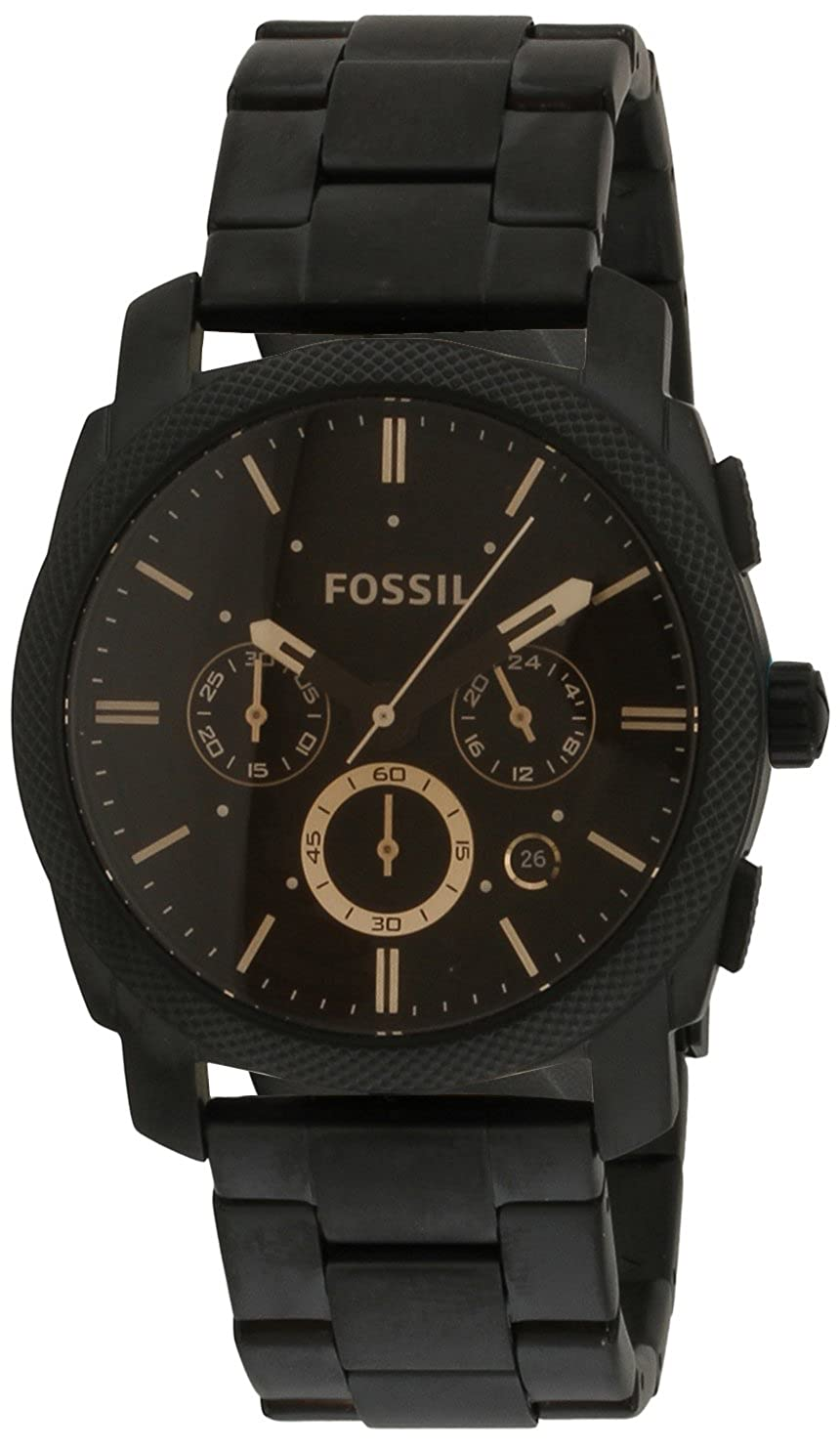 f5a97df2c09 Buy Fossil Machine Chronograph Black Dial Men s Watch - FS4682 Online at  Low Prices in India - Amazon.in