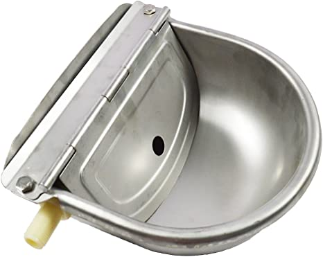 Automatic Farm Grade Stainless Stock Waterer Horse Cattle Goat Sheep Dog Water