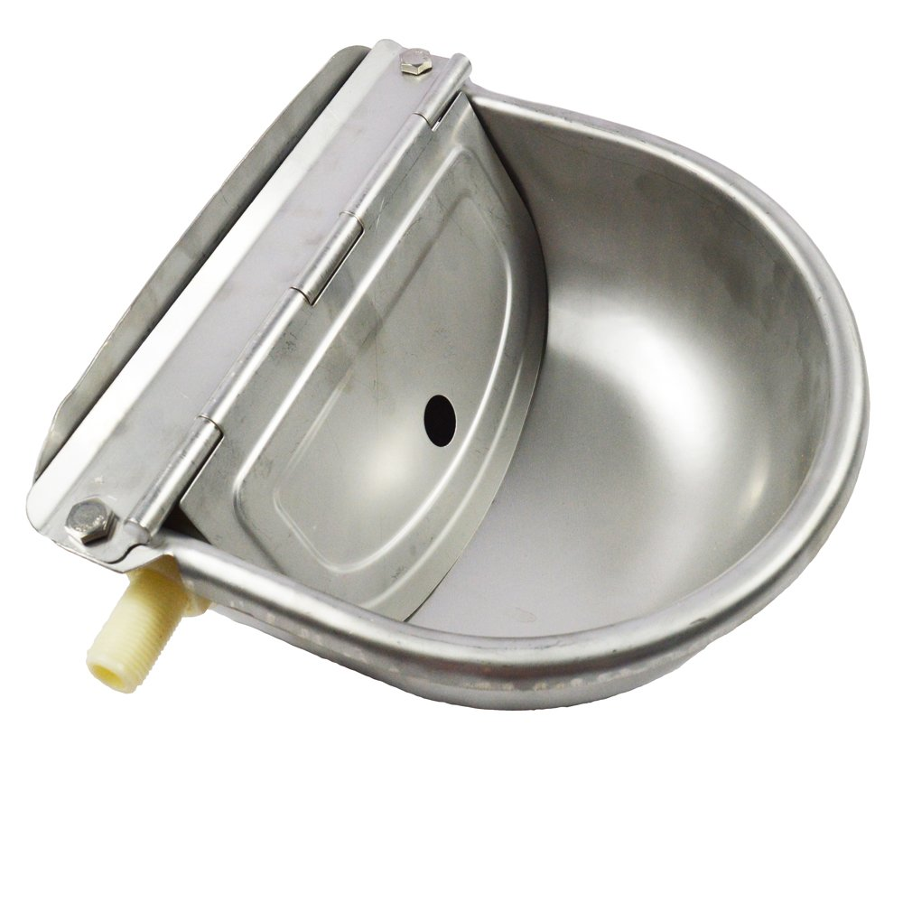 TECHTONGDA Automatic Farm Grade Stainless Stock Waterer Horse Cattle Goat Sheep Dog Water(Item # 020209) by TECHTONGDA