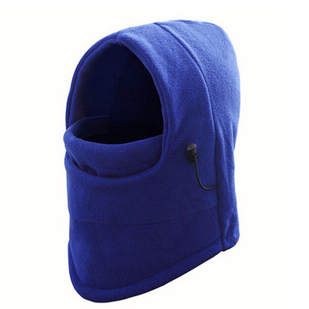 Fashion!BingYELH Best Full Face Mask, Premium Ski Mask and Neck Warmer for Motorcycle and Cycling, Men Women Winter Hood Masks Fleece Scarf (Blue)