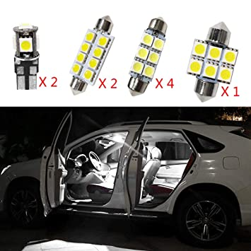 para Touran Super Brillante Fuente de luz LED Interior Lámpara de Coche Bombillas de Repuesto Blanco