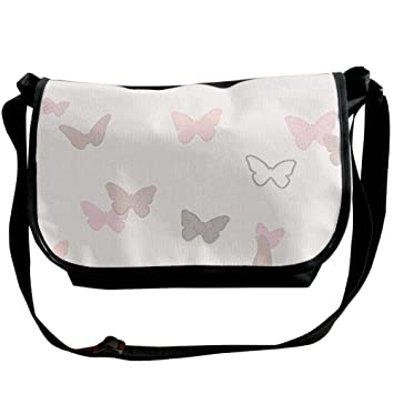 f910b7a2d9 College Boys Fancy Butterfly r n Graphic Crossbody Messenger Bag Casual  Over The Shoulder