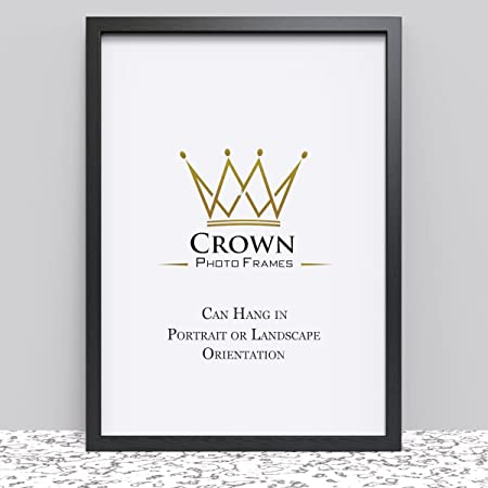 Crown Black Photo Frame For A1 594 X 841 Cm 234x331 Inches