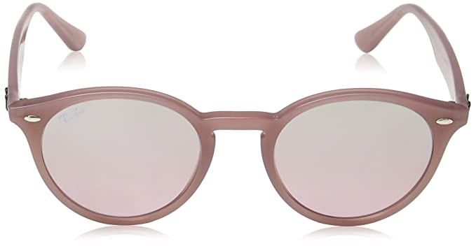 8e6b8e6f9e8 Amazon.com  Ray-Ban INJECTED MAN SUNGLASS - OPAL ANTIQUE PINK Frame PINK  MIRROR SILVER GRAD Lenses 51mm Non-Polarized  Ray-Ban  Clothing