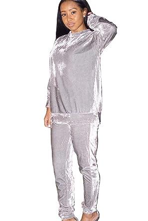 Zilcremo - Traje de vestir - para mujer Plateado plateado Medium ...