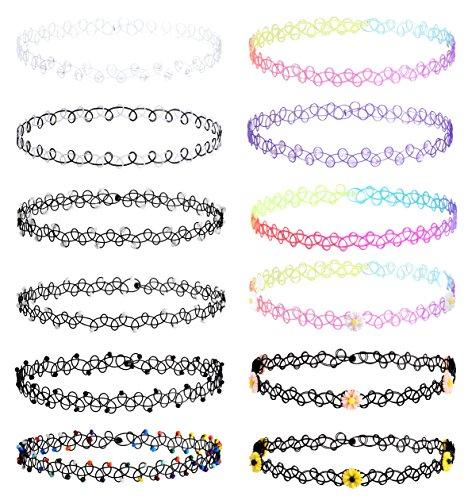 Jstyle Necklaces Vintage Elastic Adjustable