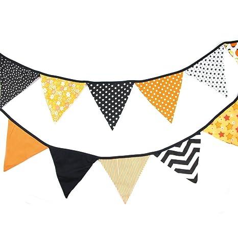 Guirlande Fanion Tissu Bannière en Coton Décoration pour Chambre d\'enfant  Salle de Mariage