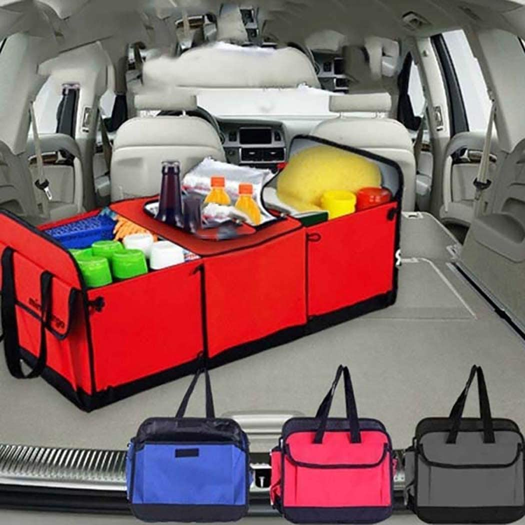 Oineke Car Folding Insulation Storage Box Multifunction Interior Truck Cargo Container Utensil Organizers