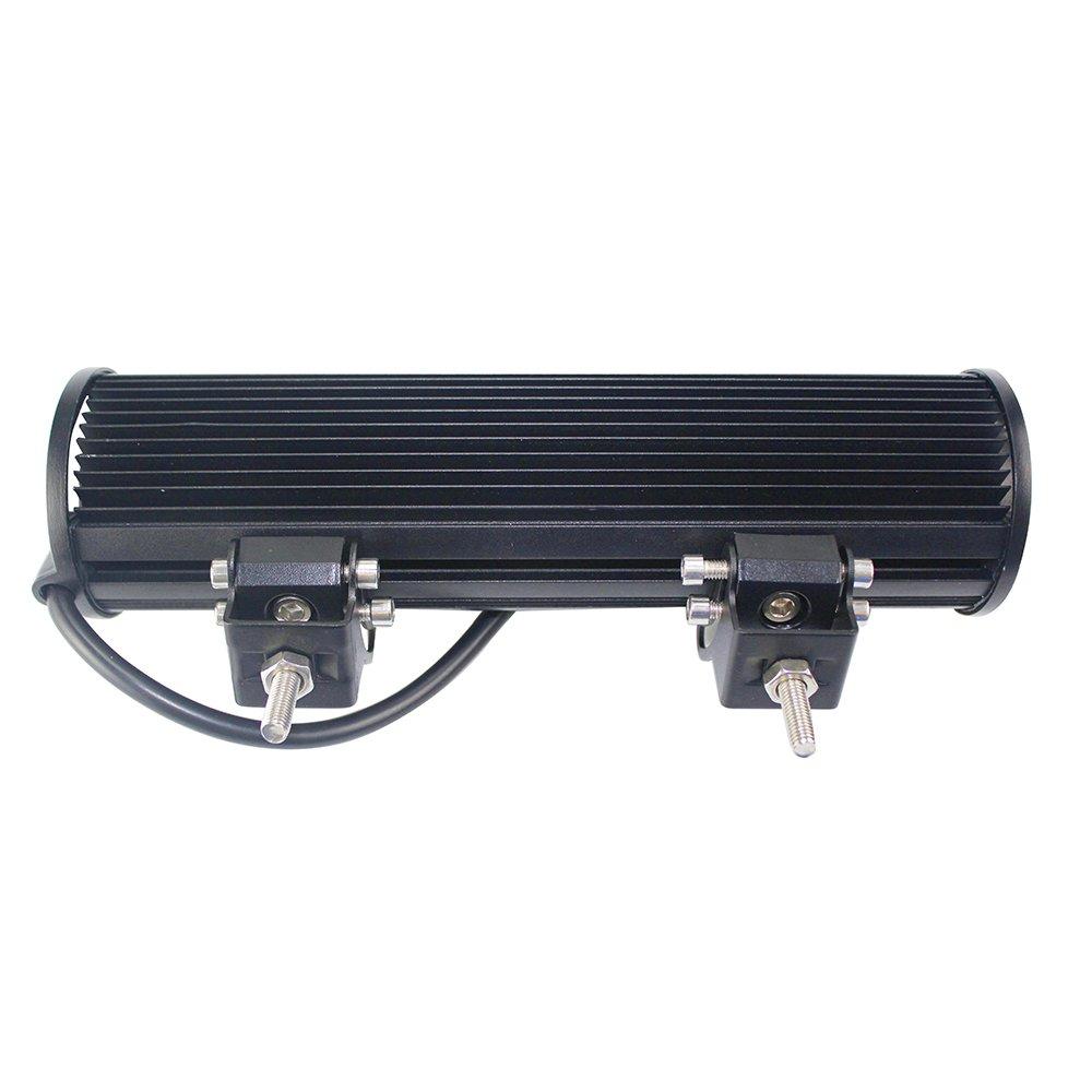 72/W Foco LED de trabajo color blanco 12/V 24/V Foco Reflector Work Light Bar Faro Luz de trabajo Offroad SUV UTV ATV Trabajo L/ámpara Tractor Excavadora Cami/ón Coche