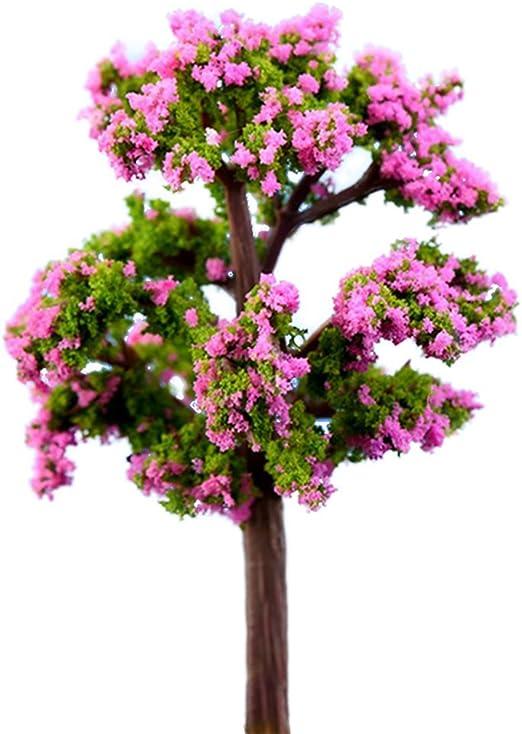 0.01 Lumanuby 2 Piezas Miniatura Árbol Plantas Modelo de árbol, Modelo de Paisaje, Arquitectura Árboles, Hada Jardín Accesorios Muñeca Casa Ornamento Decoración: Amazon.es: Hogar