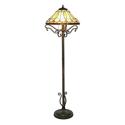 Amazon.com: 1908 Studios Arroyo Tiffany – Lámpara de pie ...