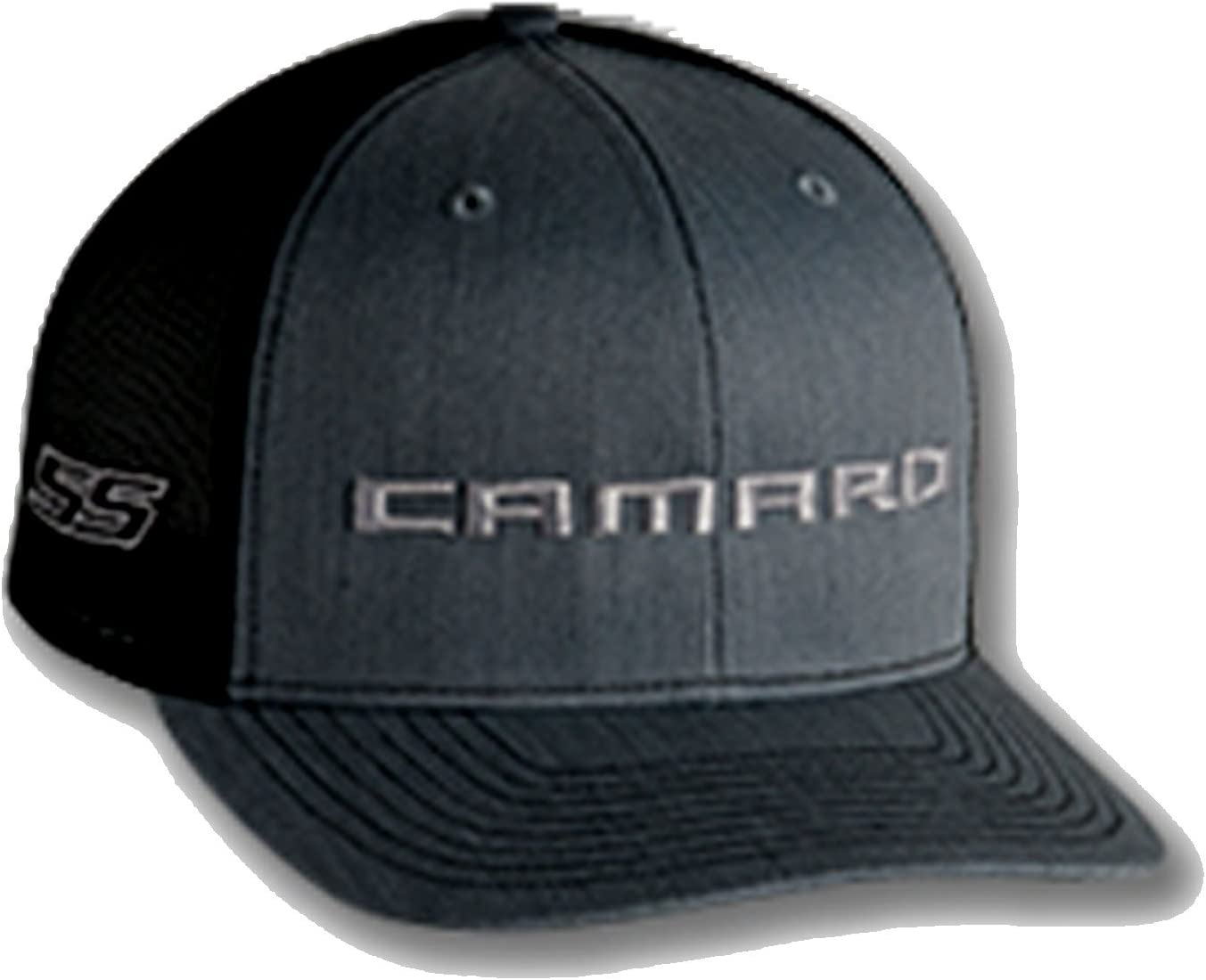 Chevy Camaro SS White Mesh Hat