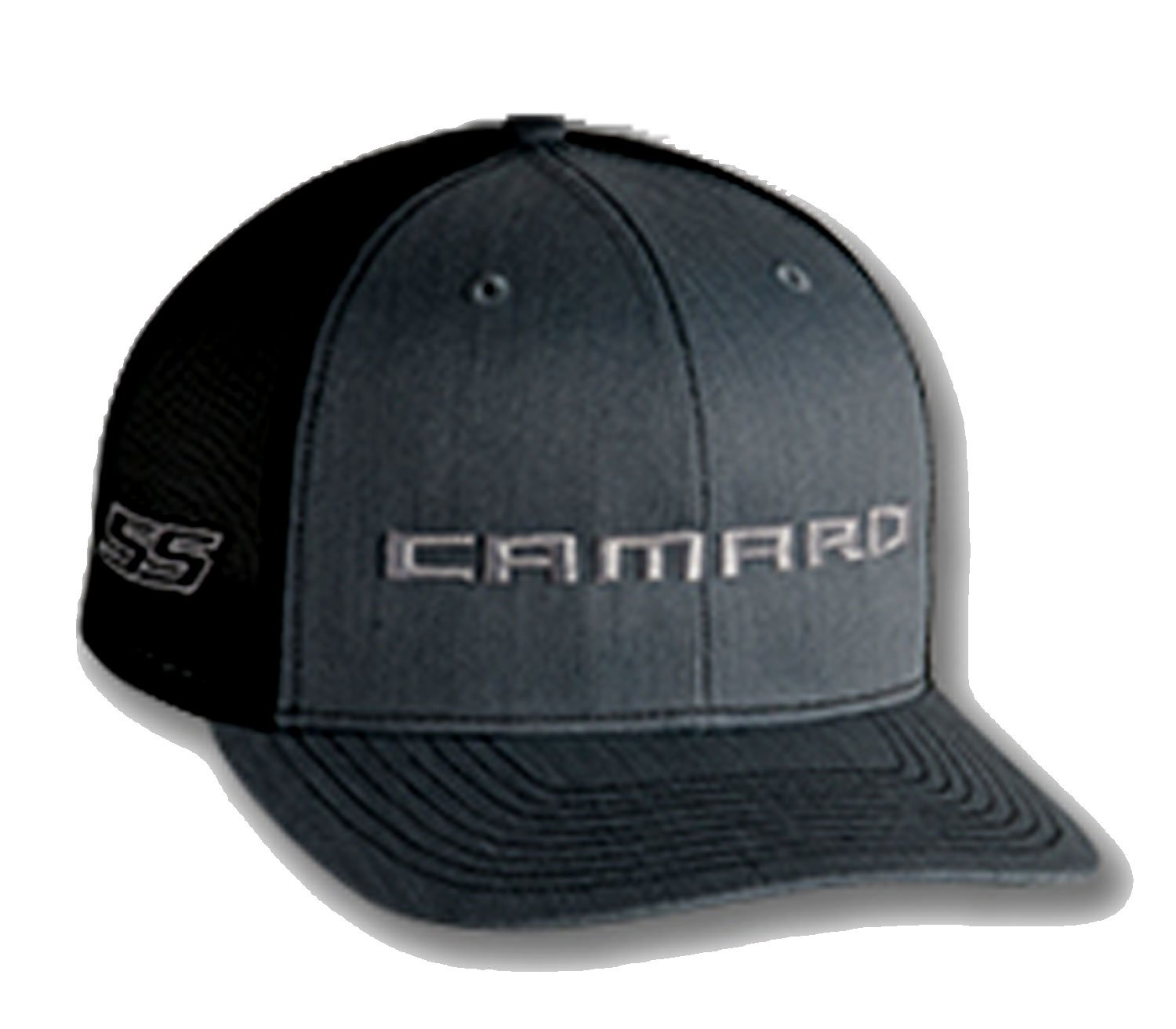 Gregs Automotive Chevrolet Chevy Camaro SS Trucker Hat Cap Red Bundle Includes 1 Hat and 1 Driving Style Decal