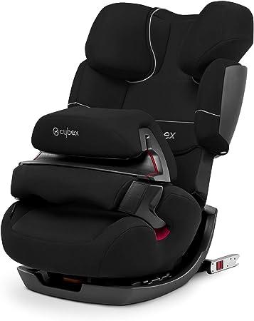 Oferta amazon: Cybex Silver 2-in-1 Silla de coche para niños Pallas-Fix, para coches con y sin ISOFIX, grupo 1/2/3 (9-36 kg), de aprox.9 meses a aprox.12 años, negro puro
