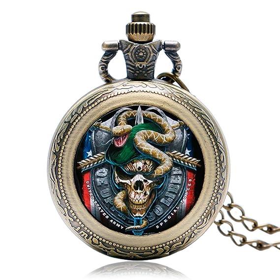 Reloj de Bolsillo Vintage con cordón Especial para Hombre, Colgante de Bolsillo, Regalo