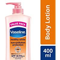 Vaseline Healthy White Sun + Pollution Protection Body Lotion 400 ml