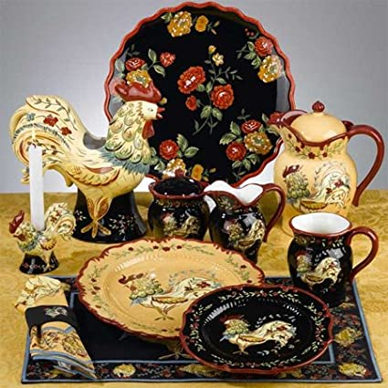 Provence Rooster Teapot By April Cornell Dinnerware Certified International Tableware & International Tableware u0026 Page 1