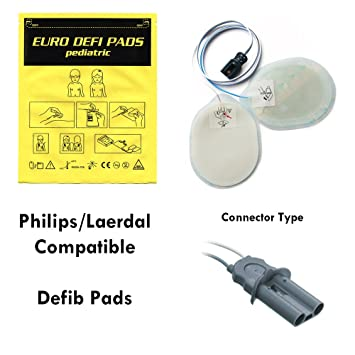 F7950P - Compatible Defib Pads - Pediatric - For Philips