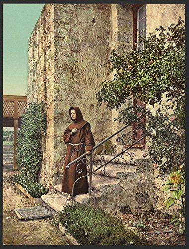 (Historic Photos Brother Odoricus, Mission Santa Barbara,)