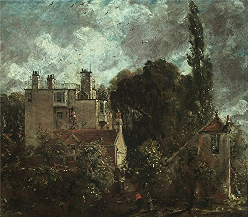['John Constable The Grove Or The Admiral's House In Hampstead ' Oil Painting, 24 X 27 Inch / 61 X 70 Cm ,printed On Polyster Canvas ,this Vivid Art Decorative Prints On Canvas Is Perfectly Suitalbe For Gift For Relatives And Home Decor And] (Rear Admiral Costume)