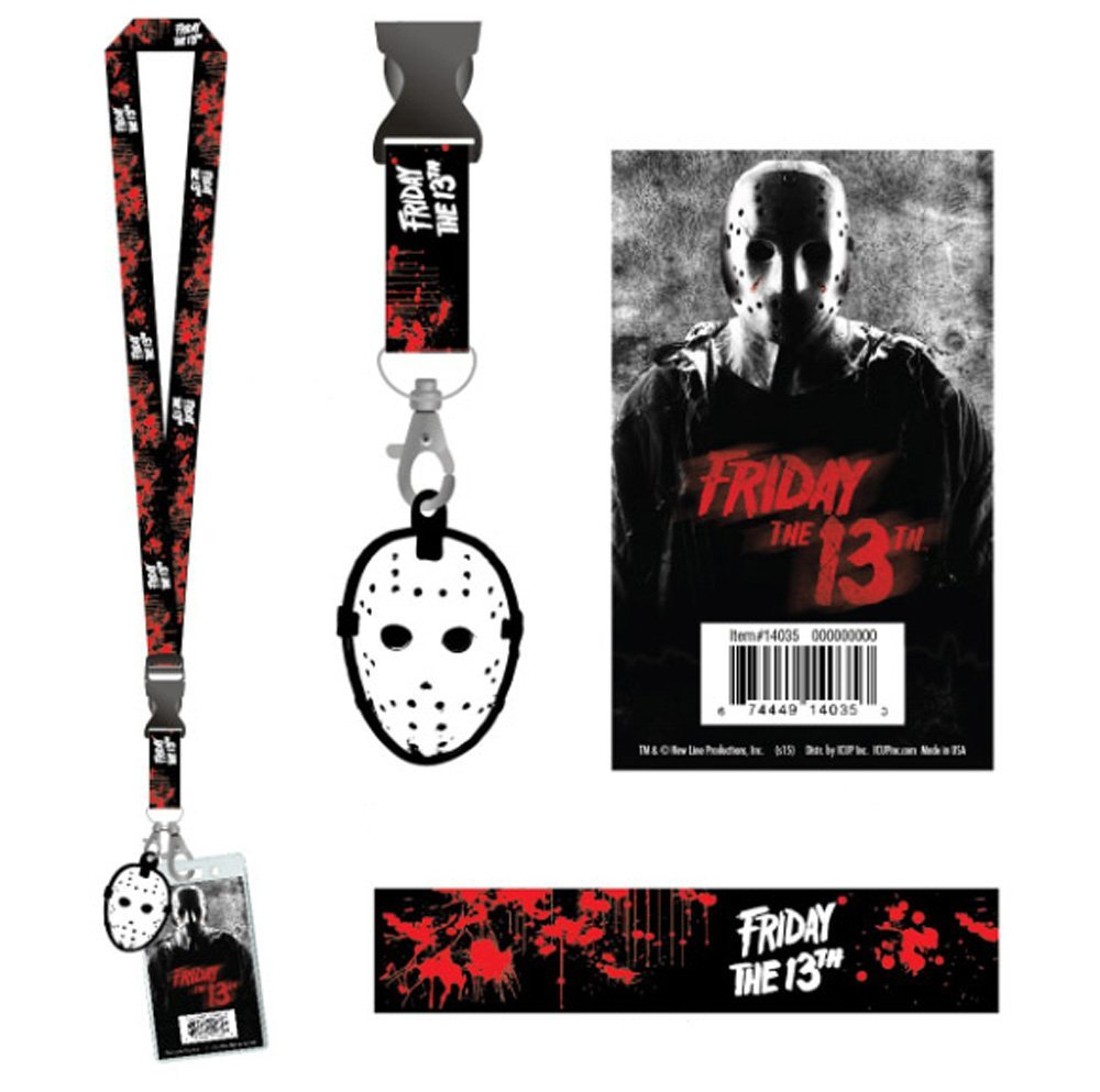 Amazon.com: Jason Voorhees Lanyard – Friday the 13th: Office ...