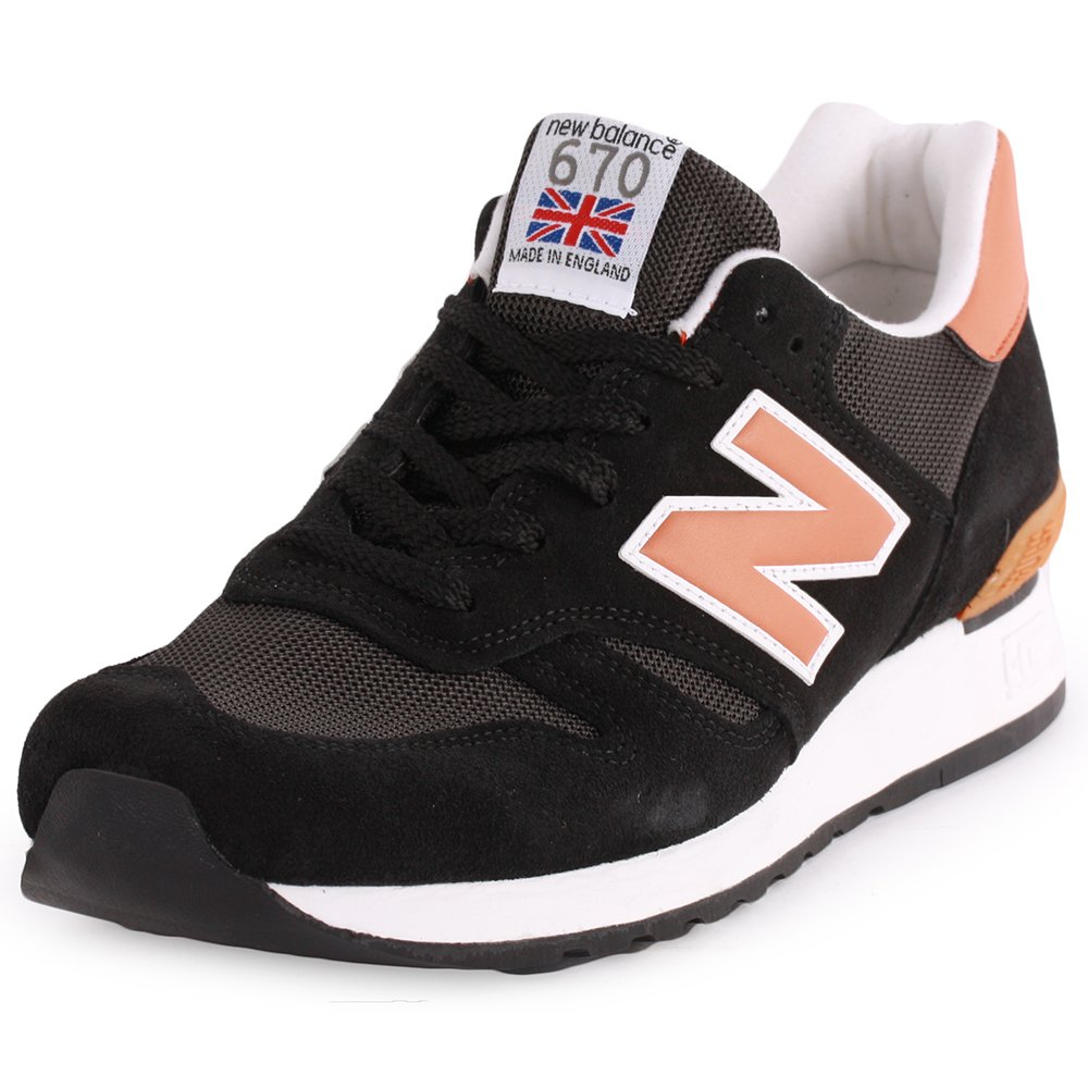 huge selection of 286af 3a468 New Balance 670 Trainers Black 11 UK: Amazon.co.uk: Shoes & Bags