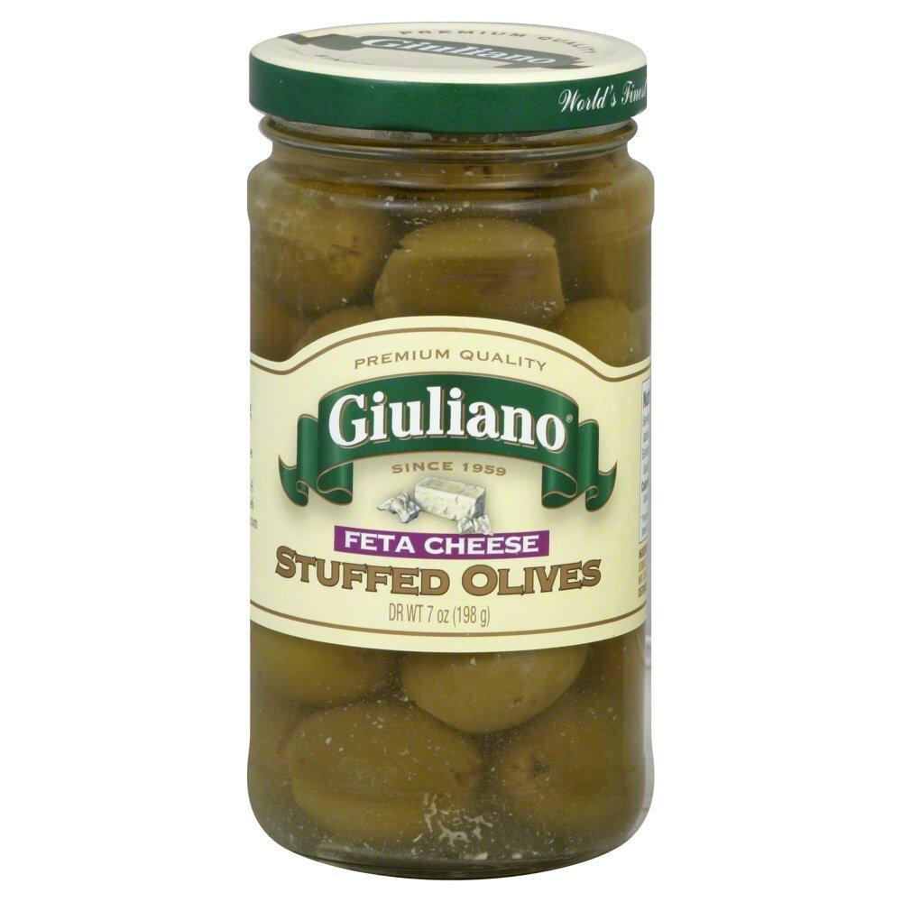 Giuliano Feta Cheese Stuffed Olives -- 7 oz
