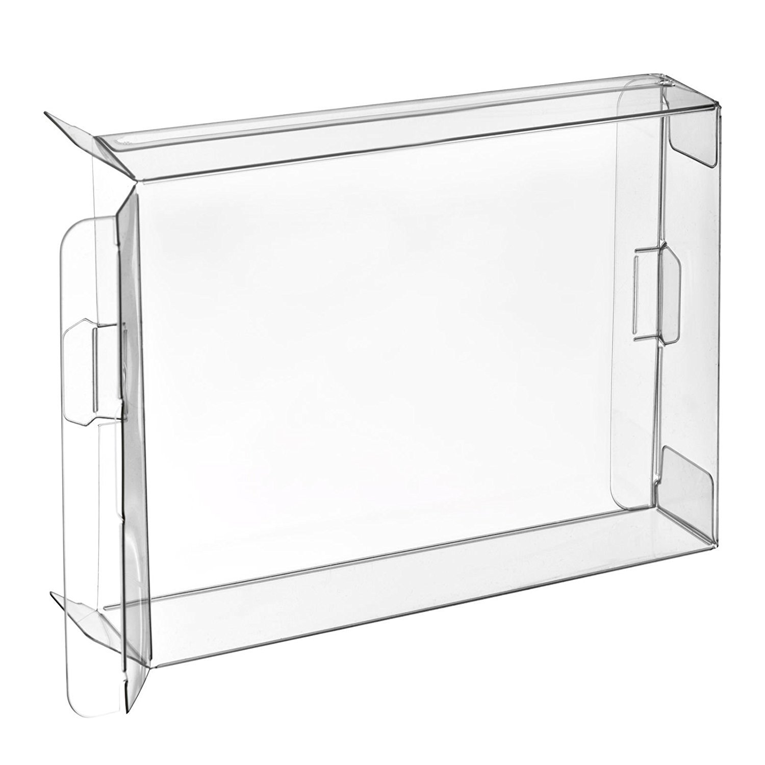 Childhood 10Pcs Clear Box Case Sleeve CIB Protector for Nintendo SNES N64 Games Cartridge Box