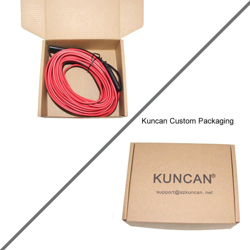 KUNCAN 25FT Sae to Sae 2 Pin Extension Cable DC Power 16awg Heavy Duty Battery Quick Disconnect//Connect Wire Harness with Sae Connectors with Dust Cap