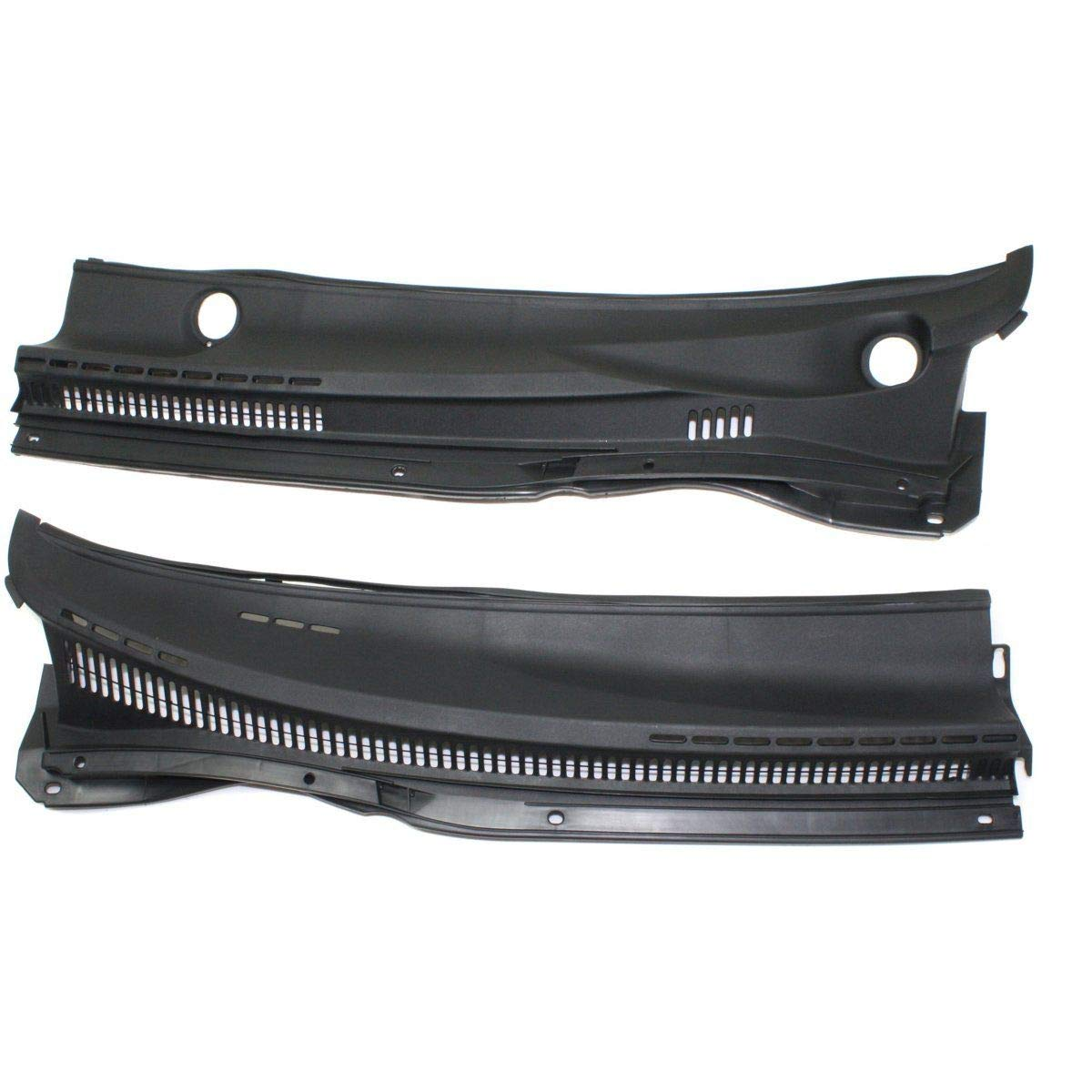 Wiper Cowl Grille For 2003 04 05 06 07 2008 Toyota Corolla Left and Right Black