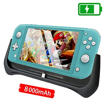 Amazon.com: 8000mAh Cargador de Batería Funda para Switch ...