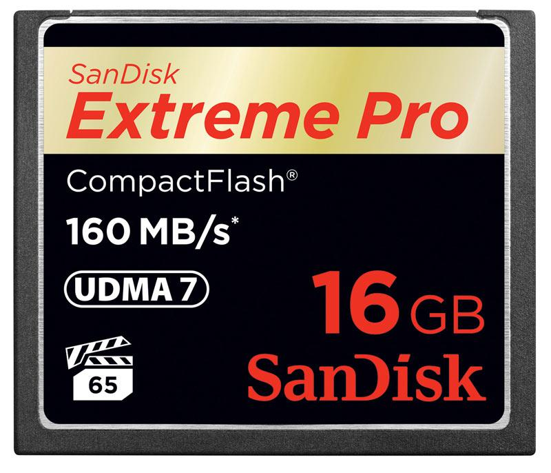Amazon.com: SanDisk Extreme PRO 16GB Compact Flash Memory Card ...