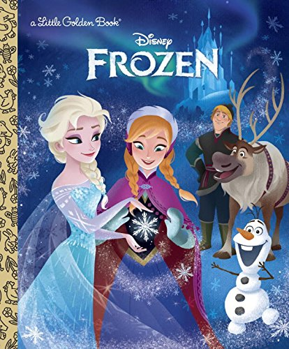 Disney Frozen Books (Frozen (Disney Frozen) (Little Golden Book))
