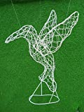 Hummingbird 15 inches high 12 inches long 8 inches wide Topiary Frame, Handmade Animal Decoration